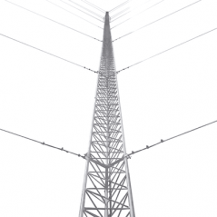 Kit de Torre Arriostrada de Piso de 6 m Altura con Tramo STZ30 Galvanizado Electrolítico (No incluye retenida).