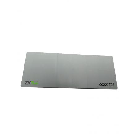 TAG Adherible para Vehiculos Tecnología UHF Frecuencia 902 A 928 Mhz Folio Impreso p/ Lectoras ZK