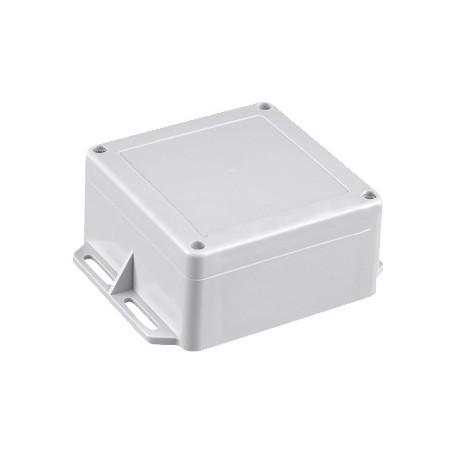 Gabinete Plástico Gris para Exterior (IP65) de 120 x 120 x 60 mm Caja estanca Caja de plástico para exterior de Plástico