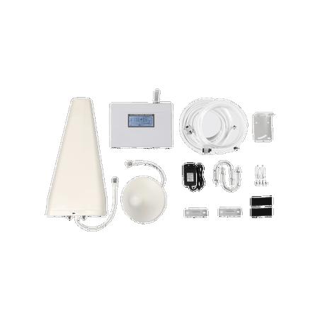 Kit de Amplificador de Señal Celular   Doble Banda   Mejora las Llamadas, Soporta 3G y *4G LTE hasta 500 metros