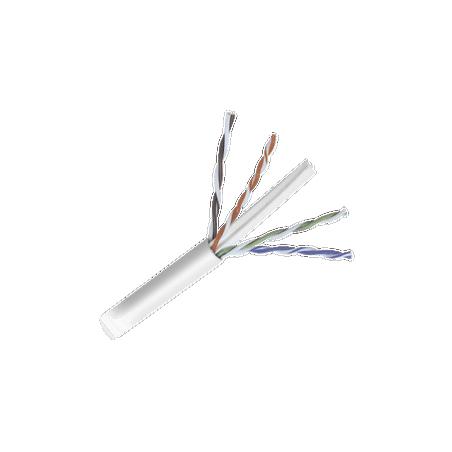 Bobina de cable de 152 Metros Cat6+ CALIBRE 23 ALTO DESEMPEÑO P/CCTV y redes de datos