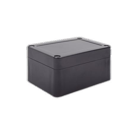 Gabinete Plástico Negro para Exterior (IP65) de 100 x 68 x 50 mm Gabinete para Exterior Gabinete plástico para Exterior