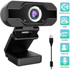 Cámara Web Full Hd 1080p Usb Con Micrófono Camara web USB con microfono ULTRA FULL HD gran angular con microfono