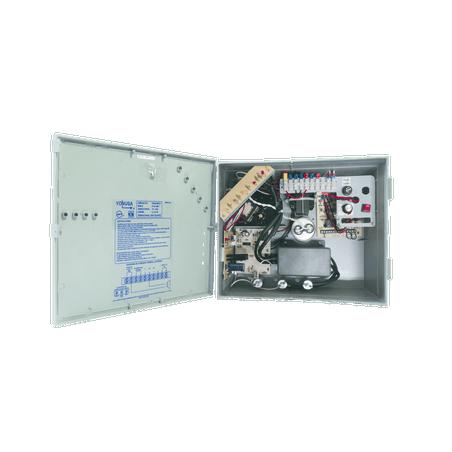 Energizador ANTIPLANTAS de 10,000Volts-5JOULES/10000 Mts lineales Central para cerca electrica