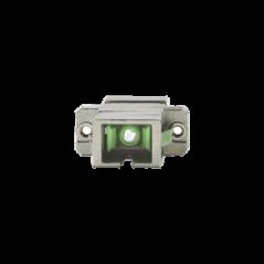 Módulo acoplador de fibra óptica simplex SC/APC a SC/APC compatible con fibra Monomodo Conector de fibra SC-SC