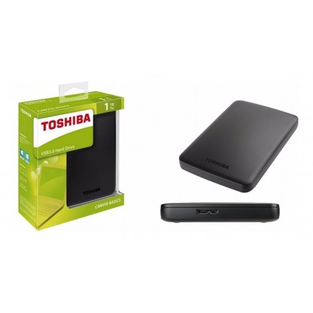 Disco duro externo Toshiba Canvio Basics 1TB Disco duro Portátil de 1 Tera Disco duro Toshiba de 1 tera