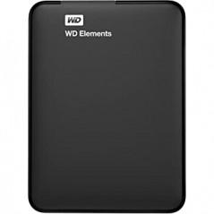 Disco duro externo Western Digital WD Elements WDBUZG0010BBK 1TB negro