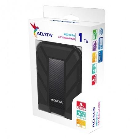 Disco duro externo Adata HD710 Pro AHD710P-1TU31 1TB negro