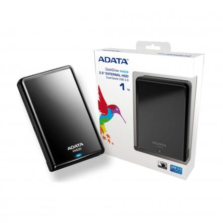 Disco duro externo Adata AHV620S-1TU3 1TB negro Disco duro portátil Disco duro Externo 1 tera 1TB