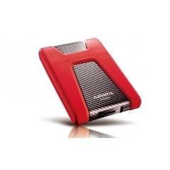 Disco duro externo Adata DashDrive Durable HD650 AHD650-1TU3 1TB rojo