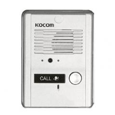 Frente de calle metálico para audio porteros KOCOM60112 Repuesto para portero Repuesto para interfon frente de calle