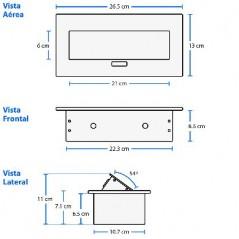 PANEL DE PARCHEO PATCH PANEL CAT6 24 Puertos SYSTIMAX COMMSCOPE