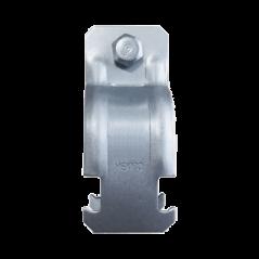 "Abrazadera Unicanal para Conduit de 3/4"" (19 mm). Soporte para Tubo Abrazadera Unicanal"
