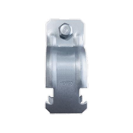 "Abrazadera Unicanal para Conduit de 1/2"" (13 mm). Soporte para Tubo Abrazadera Unicanal"