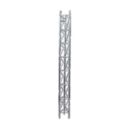 Tramo de Torre Arriostrada de 3m x 35cm, Galvanizado por Electrólisis, Hasta 45 m de Elevación. Zonas Secas.