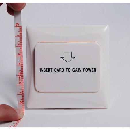 Interruptor de Energía para Habitación de Hotel / Habilita la corriente eléctrica al colocar la llave (tarjeta) de la habitación