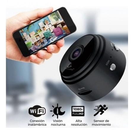 Mini Cámara Portátil Wifi Con Visión Nocturna Cámara espía Cámara Oculta Mini Cámara de CCTV