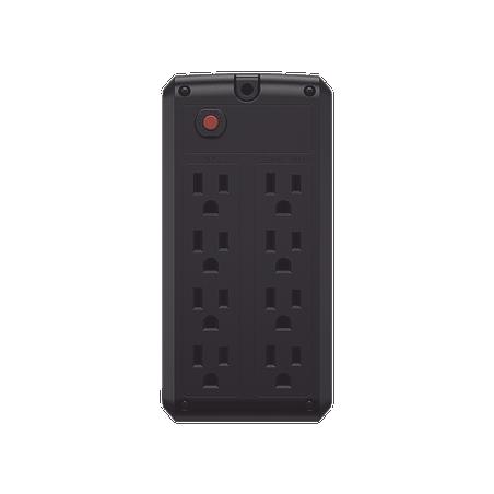 UPS de 1000 VA/500 W, Topología Línea Interactiva, Entrada 120 Vca NEMA 5-15P, y 8 Salidas NEMA 5-15R Con Regulador