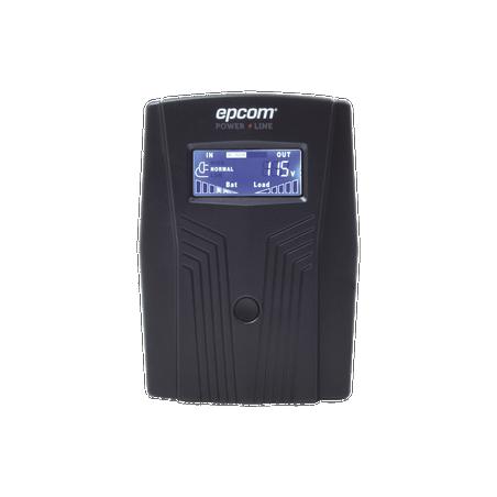 UPS de 850VA/510W / Topología Línea Interactiva / Entrada y Salida 120 Vca / Regulador de Voltaje 6 Tomas