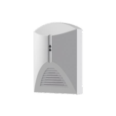 Detector de Ruptura de Cristal para Panel de Alarma HIKVISION / Cableada / Interior / LED Indicador