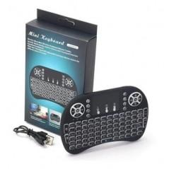 Mini Teclado Inalambrico Touchpad Iluminado Smart Tv Xbox Pc Control Remoto Mini Teclado español Touchpad