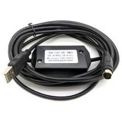 Cable Adapter USB / RS422 Cable de Comunicacion USB para PLC Cable Adapter Cable de PLC