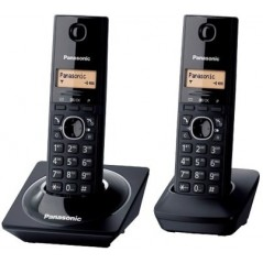 Kit de 2 telefonos inalambricos Kit de telefonos digitales Telefono para oficina Telefono para Casa Paquete de 2 piezas