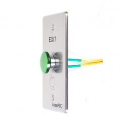 Botón Redondo Color Verde (IP65) Boton para Controles de Acceso Botón para Puerta Botón tipo Hongo para Exterior