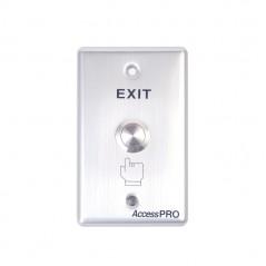 Botón Redondo Color Verde (IP65) Botón para control de Acceso Botón para imán Botón para exterior IP65