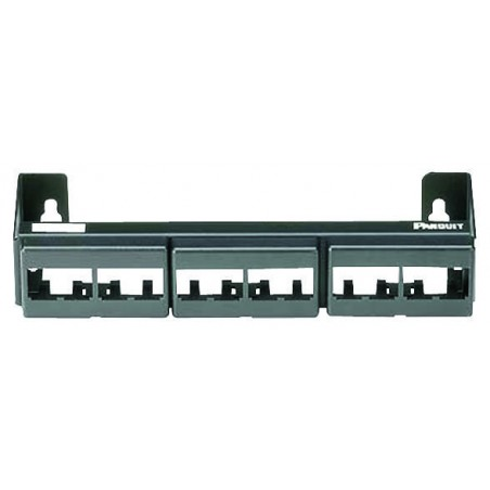 Panel de Parcheo Vacio (Sin Conectores), de 12 Puertos Patch panel de 12 puertos PANDUIT Patch panel para pared