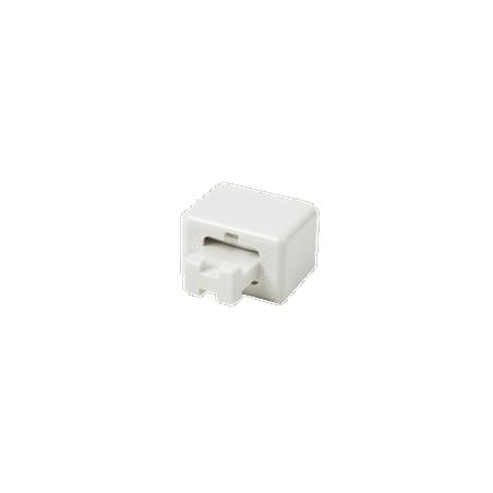 Clip de Puente, Para Uso con Regletas S66 de Siemon, de 1 par, Color Blanco
