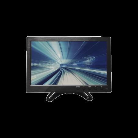 "Monitor 10.1"" TFT-LCD ideal para colocar en vehículos o DVR/NVR. Entradas de video HDMI, VGA y RCA (CVBS)"