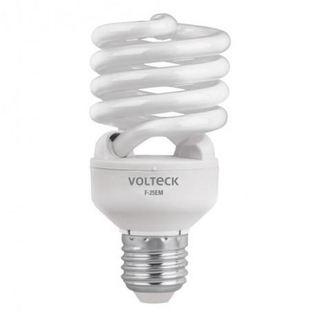 Lámpara Foco 25 W Espiral Mini Luz Día T2 Blíster Volteck Foco para Socket
