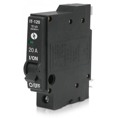 Interruptor Termomagnético 1 Polo 30 A, Volteck 46702 Pastilla para la luz Pastilla de Luz