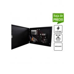 Control de Acceso Profesional para 1 Puerta Gabinete y Fuente Sin Biometría Fácil Administración