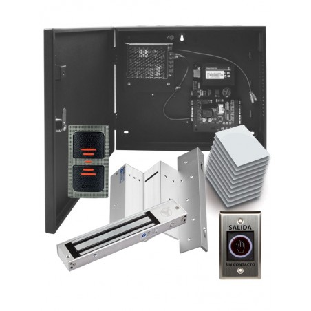 Control de Acceso Profesional para 1 Puerta con Lector de Tarjeta RFID en paquete