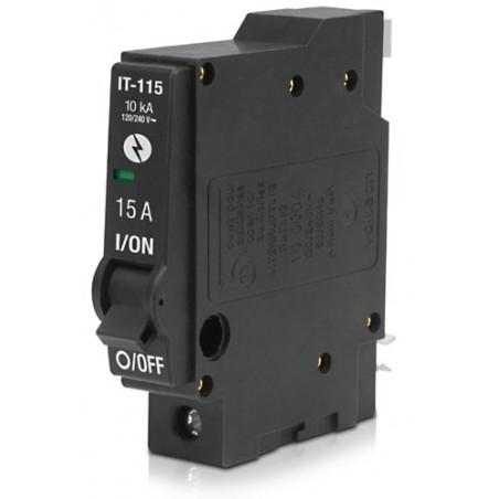 Interruptor Termomagnético 1 Polo 15 A, Volteck 46700 Pastilla para la luz Pastilla de Luz