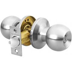 Cerradura Chapa Para Puerta Cuarto Recámara Hermex Cerradura para puerta Pomo para puerta Cerradura de recamara