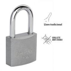 Candado Cortina Extra Seguridad Métálico Candado Alta Seguridad Candado Hierro 50MM Candado para cadena puerta