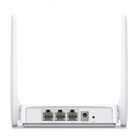 Router Inalámbrico WISP N 2.4 GHz de 300 Mbps 1 puerto WAN 10/100 Mbps 2 puertos LAN 10/100 Mbps versión con 2 antenas de 5