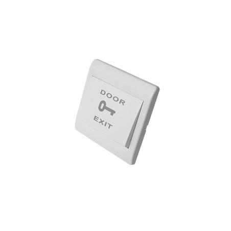 Botón de salida de plástico / Contacto Normalmente abierto Boton de salida economico de Plastico Boton para chapa Electroiman
