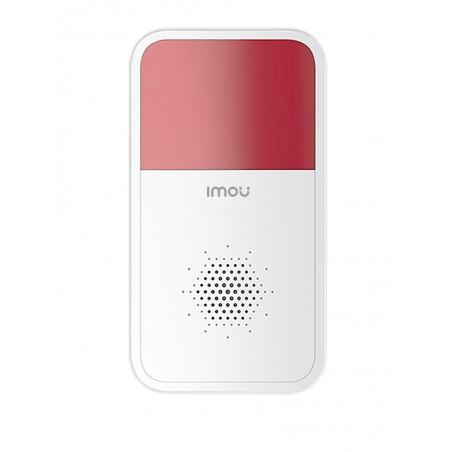 Sirena / Estrobo Inalambrio / Compatible con Kit de alarmas IMOU Sirena inalambrica Sirena IMOU