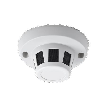 Cámara híbrida oculta en sensor de humo / 2 Megapixel (1080p) TurboHD / Analogo Camara oculta Camara en forma de Sensor de Humo