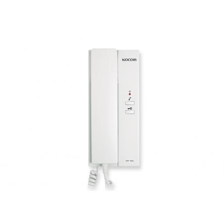 Auricular auxiliar para TV-Porteros KOCOM Telefono para TV porteros Videoportero Frente de calle y/o Monitores Kocom