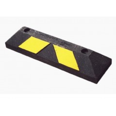 Tope de Estacionamiento Home Park It 56 cm color Negro-Amarilo