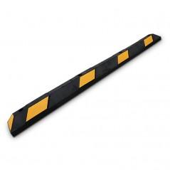 Tope de Estacionamiento Park It 1.83m color Negro-Amarilo Tope para estacionamiento tope para Carro Tope Amarillo
