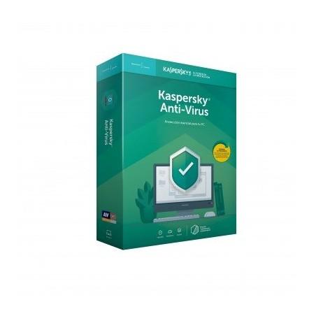 Antivirus KASPERSKY con 3 licencias para 3 computadoras 1 año Anti-Virus para 3 usuarios