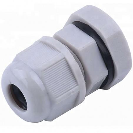 Conector Plástico Tipo Glándula para Cable de 5 a 10 mm de Diámetro. Conector Prensacable Prensa Cable