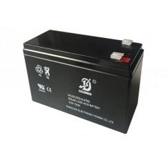 Batería de Respaldo UL de 12V 12AH / Ideal para Sistemas de Detección de Incendio / Control de Acceso / Intrusión