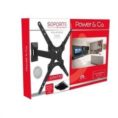 """Soporte Power & Co MP-1070 de pared para TV/Monitor de 26"""" a 70"""" negro"""